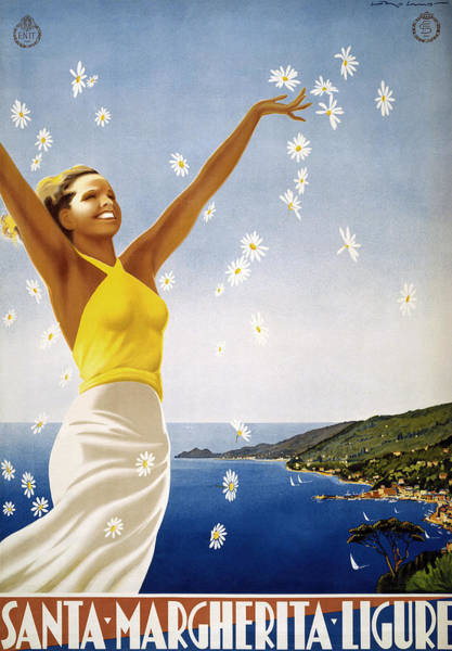 Photograph - Italian Travel Poster, 1951 by Granger