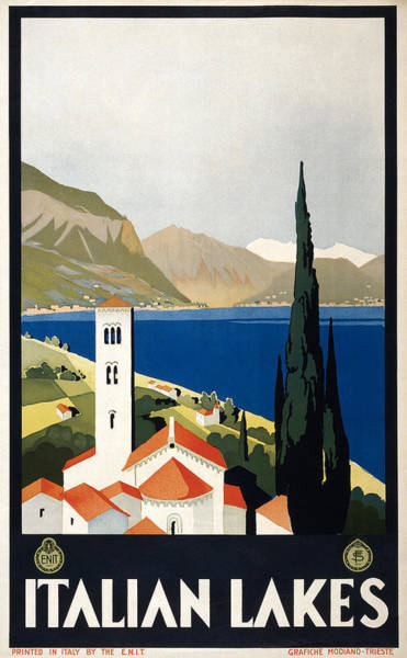 Photograph - Italian Travel Poster, C1930 by Granger