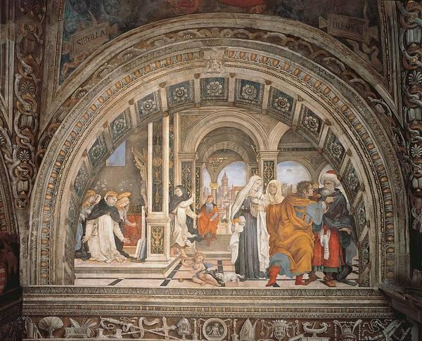 Italy, Lazio, Rome, Saint Mary Above Art Print