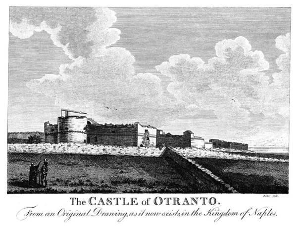 Wall Art - Painting - Italy Otranto Castle by Granger