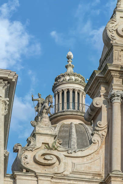 Historic Triangle Photograph - Italy, Sicily, Ragusa, Cathedral Of St by Rob Tilley