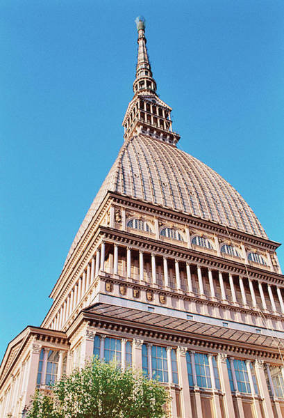 No People Photograph - Italy, Turin, View Of La Mole Antonelliana by Tim Beddow