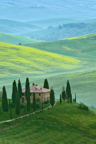 Villa D Wall Art - Photograph - Italy, Tuscany The Belvedere Or by Jaynes Gallery