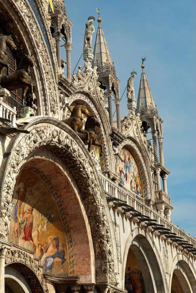 St Mark's Basilica Photograph - Italy, Venice Saint Mark's Basilica by David Noyes