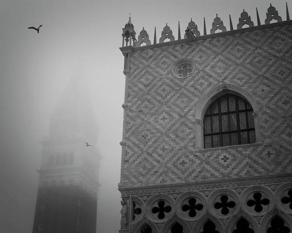Bell Tower Photograph - Italy, Venice The Doge's Palace by Jaynes Gallery