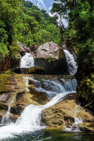 Rio De Janeiro Photograph - Itaporani Waterfall In Itatiaia by Vitor Marigo