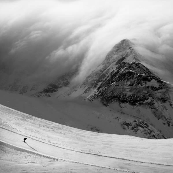 Skiing Photograph - Ita?s Coming by Peter Svoboda, Mqep