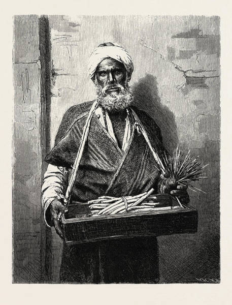Wall Art - Drawing - Itinerant Dealer by Litz Collection
