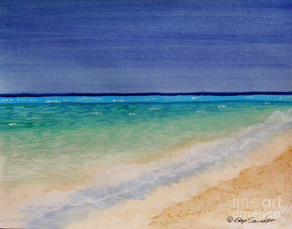 Painting - It's A Beautiful Day by Robyn Saunders
