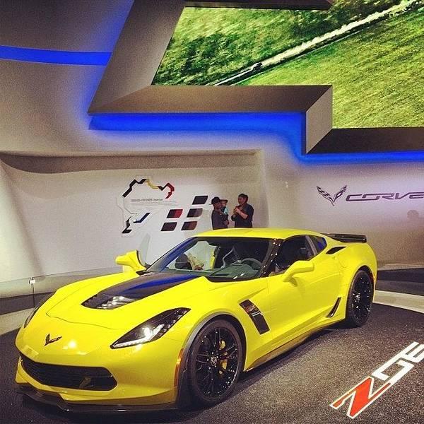 Chevrolet Corvette Photograph - It's A Beauty. #corvette #naias by Mallory Woodrow