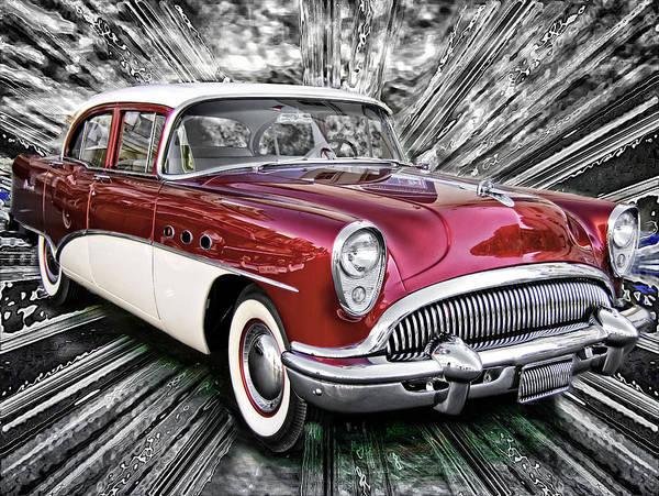 Photograph - It's A Buick Car by Carlos Diaz