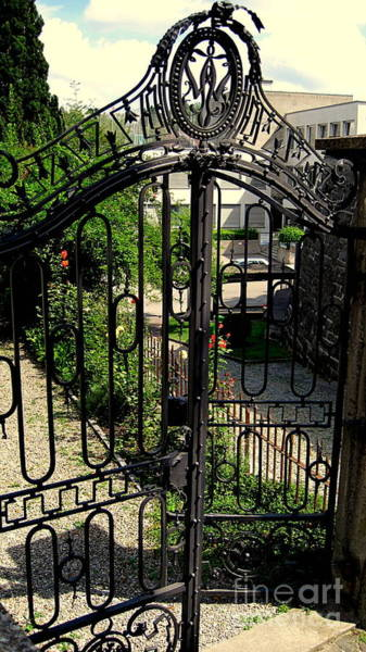 Photograph - It's A Huge Iron Gate by Susanne Van Hulst