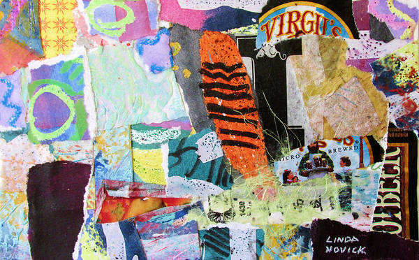 Mixed Media - It's A Mixed Bag by Linda Novick
