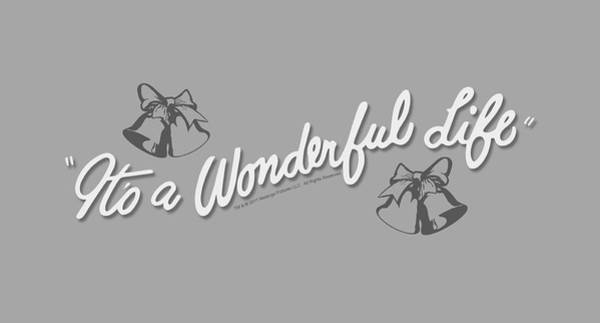 Donna Digital Art - It's A Wonderful Life - Logo by Brand A
