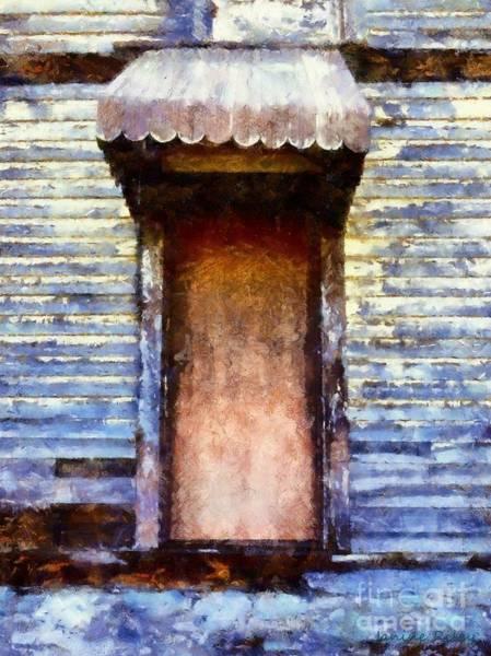 Door To Door Photograph - It's Been So Long - Abandoned Farm House Door by Janine Riley