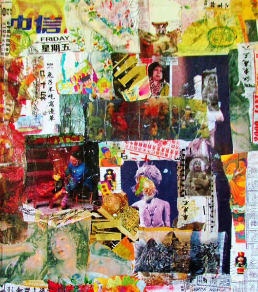 Mixed Media - It's Complicated by Linda Novick
