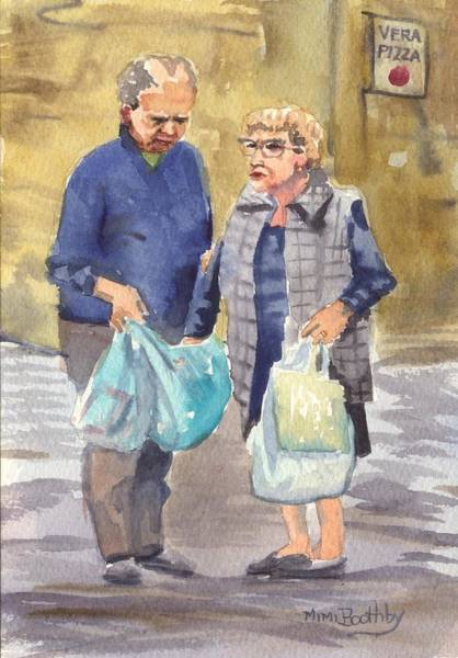 Painting - It's Not In The Bag by Mimi Boothby