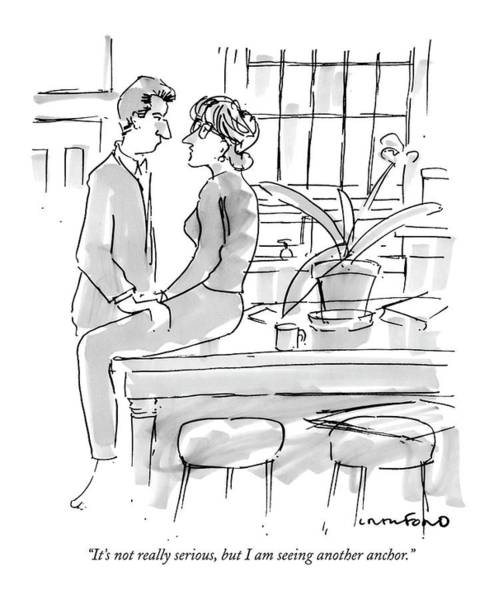 Affair Drawing - It's Not Really Serious by Michael Crawford