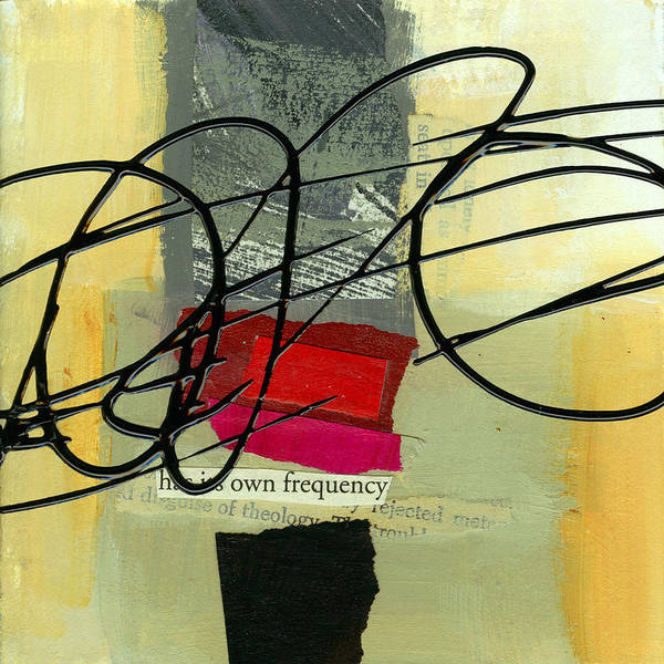 4 Wall Art - Painting - Its Own Frequency by Jane Davies