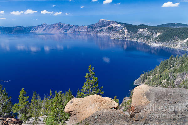 Crater Lake Np Photograph - It's Really That Blue 1 by Dan Hartford