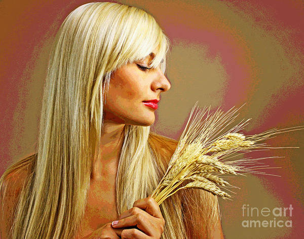 Photograph - Iuliia's Wheat by Larry Oskin