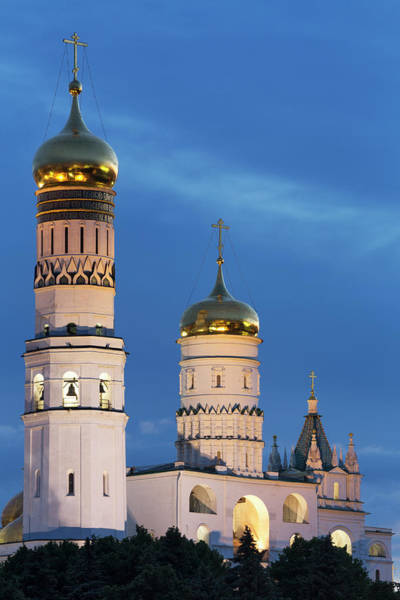 Wall Art - Photograph - Ivan The Great Bell Tower In The Kremlin by Martin Child