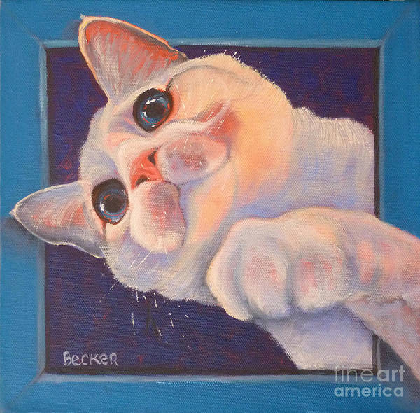 Painting - I've Been Framed by Susan A Becker