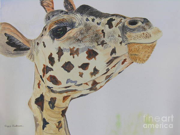 Painting - I've Got An Eye On You by Peggy Dickerson