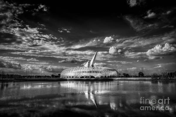 Wall Art - Photograph - Ivory Tower Of Knowledge Bw by Marvin Spates