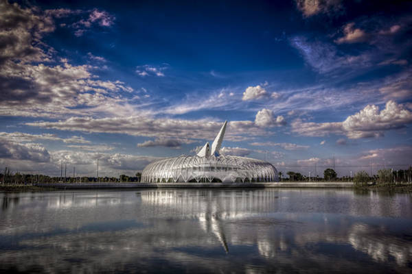 Santiago Calatrava Photograph - Ivory Tower Of Knowledge  by Marvin Spates