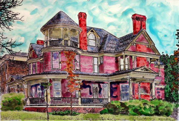 Mansion Mixed Media - Ivy Terrace by Dennis Weiser