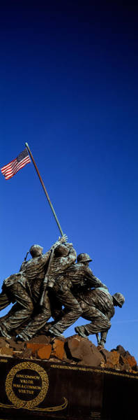 Arlington County Photograph - Iwo Jima Memorial At Arlington National by Panoramic Images