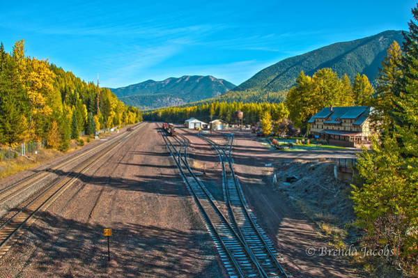 Photograph - Izaak Walton Inn Montana by Brenda Jacobs