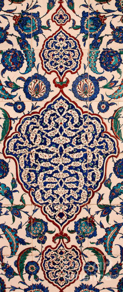 Glazed Tiles Photograph - Iznik 04 by Rick Piper Photography