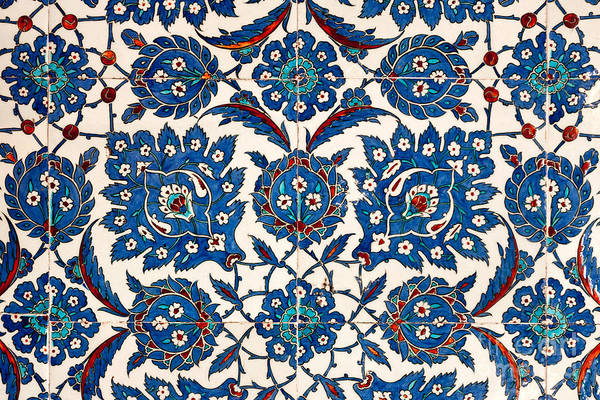 Glazed Tiles Photograph - Iznik 13 by Rick Piper Photography