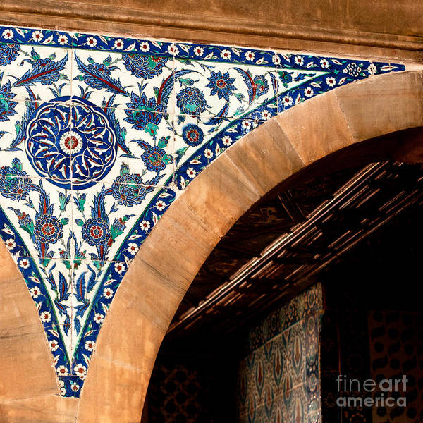 Glazed Tiles Photograph - Iznik 17 by Rick Piper Photography