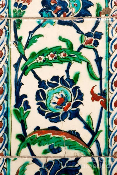 Glazed Tiles Photograph - Iznik 20 by Rick Piper Photography