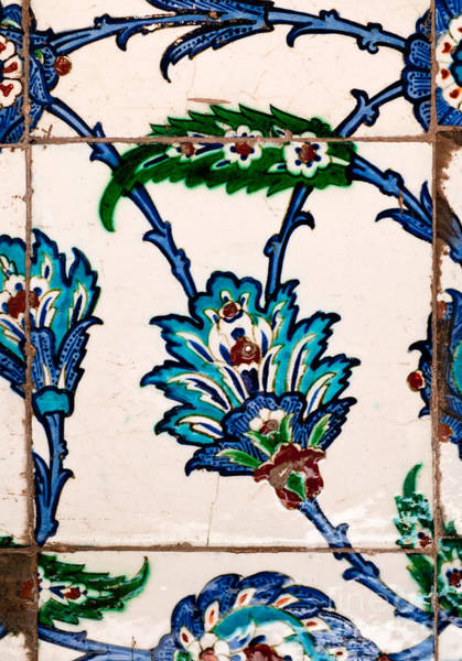 Glazed Tiles Photograph - Iznik 21 by Rick Piper Photography