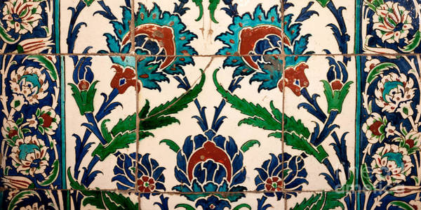 Glazed Tiles Photograph - Iznik 23 by Rick Piper Photography