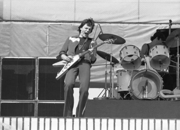 Photograph - J. Geils At Day On The Green 1976 by Ben Upham