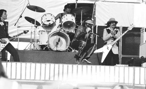 Photograph - J. Geils Band In Oakland 1976 by Ben Upham