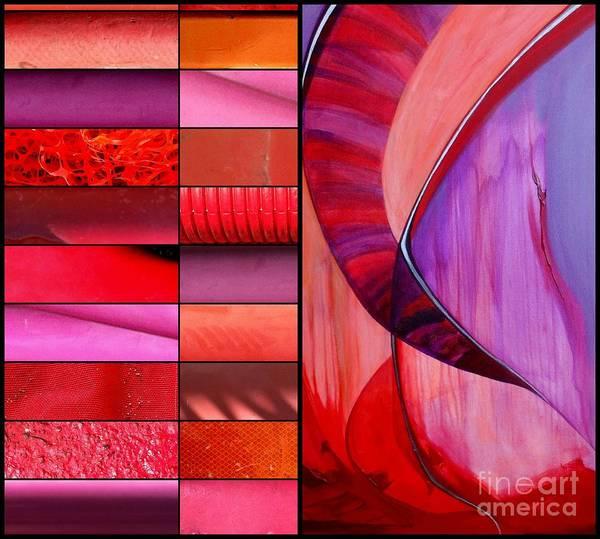 Painting - j HOT 39 by Marlene Burns