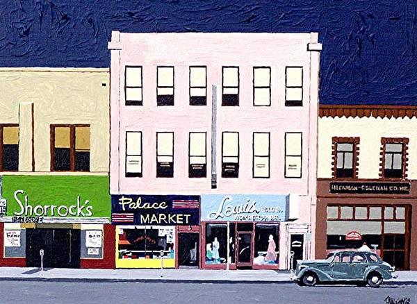 J Street Art Print by Paul Guyer