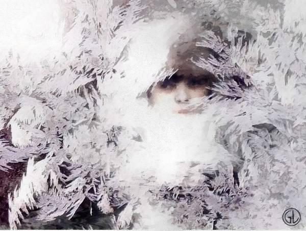 Frost Digital Art - Jack Frost Nipples Your Nose by Gun Legler