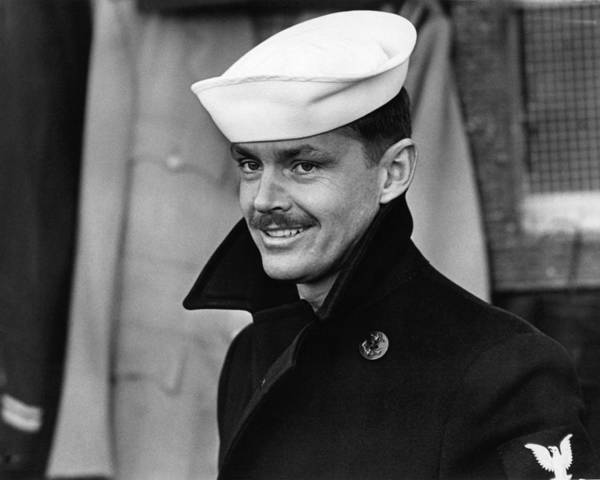 Last Photograph - Jack Nicholson In The Last Detail  by Silver Screen
