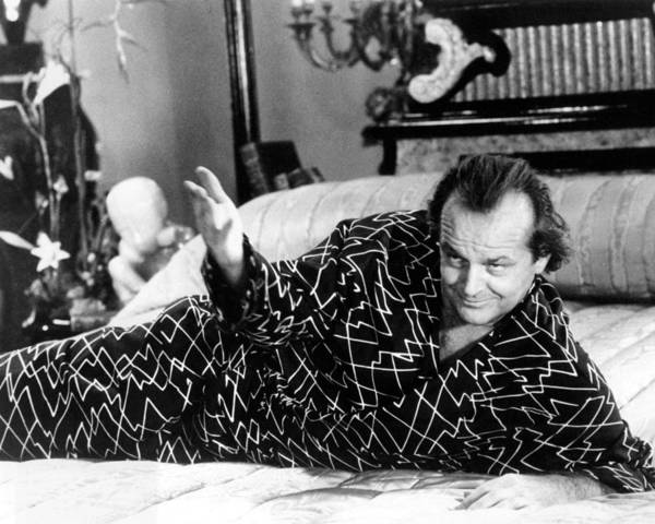 Wall Art - Photograph - Jack Nicholson In The Witches Of Eastwick  by Silver Screen