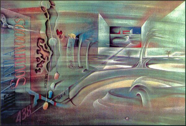 Painting - Jack Niclaus - Hole1 1998 by Glenn Bautista
