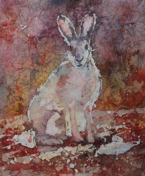 Painting - Jack Rabbit by Ruth Kamenev