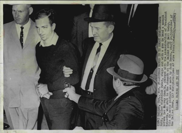 Wall Art - Photograph - Jack Ruby Assasination Of Lee Harvey Oswald by Retro Images Archive
