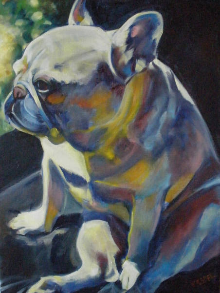 Wall Art - Painting - Jack The French Bulldog by Kaytee Esser